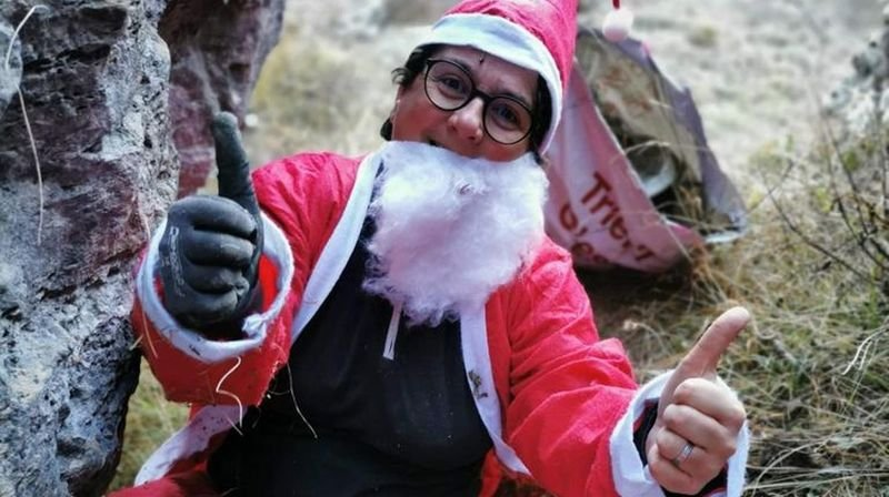 Dans le val d'Hérens, le père Noël n'est pas une ordure, il les ramasse