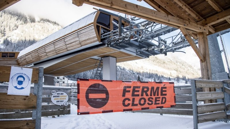 Domaines skiables fermés à Noël: l'ambiance n'est pas à la fête dans la vallée de Chamonix