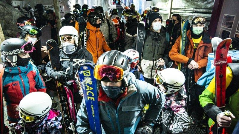 Le Valais ne fermera pas les domaines skiables