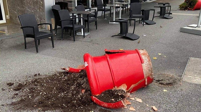 Sierre: des déprédations constatées dans le centre-ville