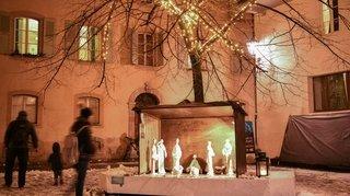 Valais: des crèches pour se mettre dans l'ambiance de Noël, malgré tout
