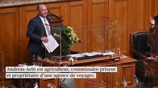 Andreas Aebi et Alex Kuprecht présidents pour un an