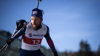 Biathlon: après une coupure, Benjamin Weger attaque sa douzième saison en Coupe du monde