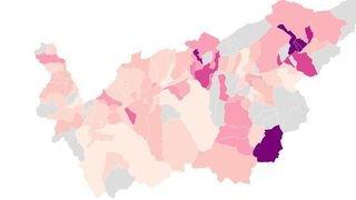 Valais: voici les communes les plus touchées par le coronavirus