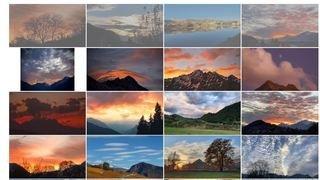 Ciel d'automne en Valais: voici les lauréats de notre concours de photos