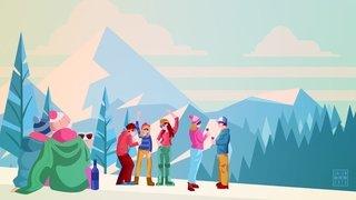 Rendez-vous sur les pistes de ski avec «Le Nouvelliste»