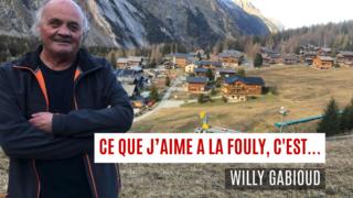 «Ce que j'aime à La Fouly, c'est… »