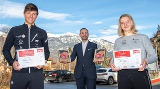 Mérites sportifs: le Valais a désigné ses deux meilleurs espoirs