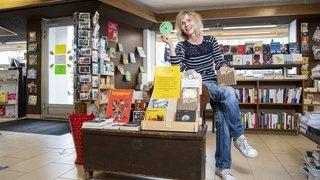 Coronavirus: à Martigny, la librairie Des livres et moi héberge une bibliothèque sonore