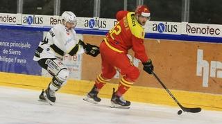 Hockey: avec Ajoie, tout va beaucoup trop vite pour le HC Sierre