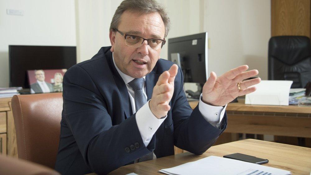 Roberto Schmidt dit prendre acte du mécontentement de l'UDC.