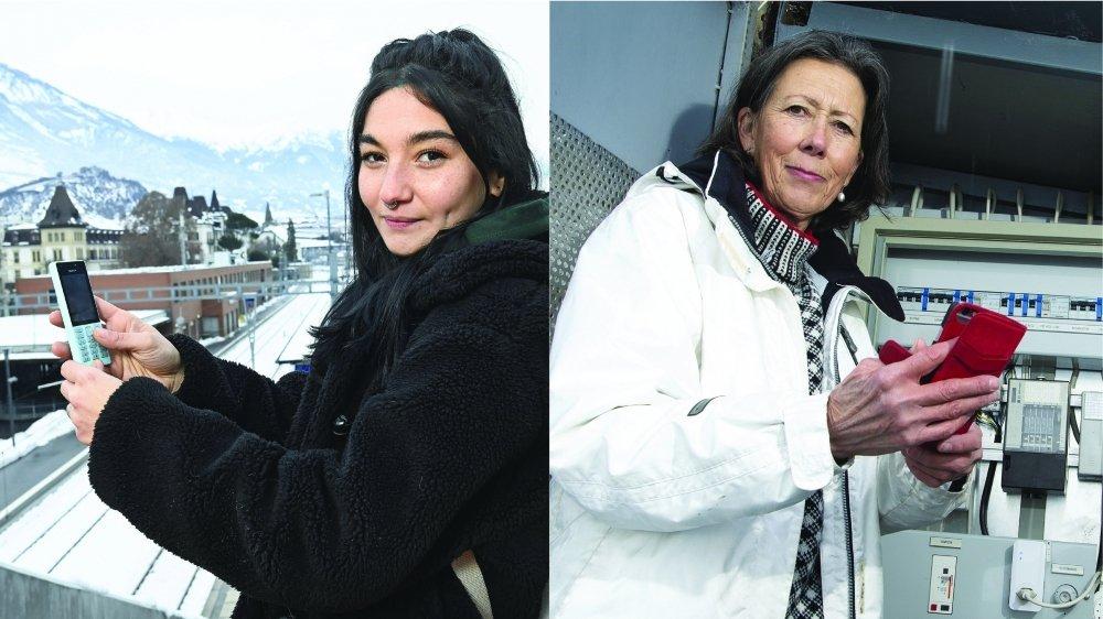 Sarah Assida et Marie-Renée Briand étaient utilisatrices d'appareils fonctionnant avec la 2G. Avec la disparition imminente de ce réseau, elles doivent migrer vers des technologies plus récentes.