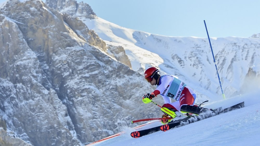 Loïc Meillard, incontestablement l'un des grands gagnants de ce week-end prolongé oberlandais dans le camp suisse.