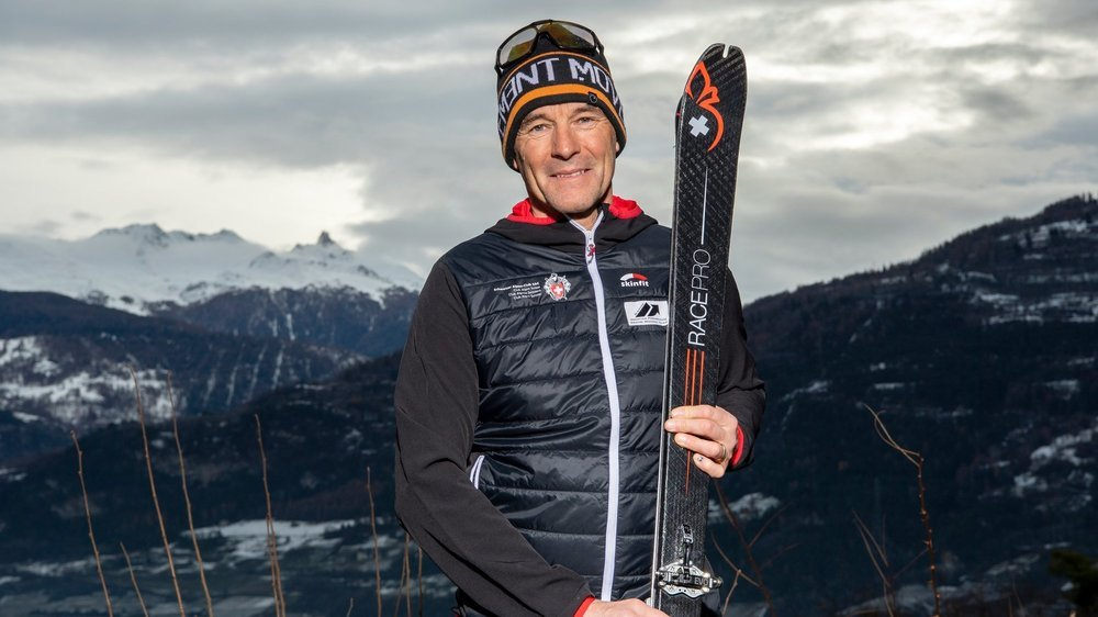 Devenu entraîneur de la relève, Pierre-Marie Taramarcaz vit au coeur du ski-alpinisme depuis trente ans
