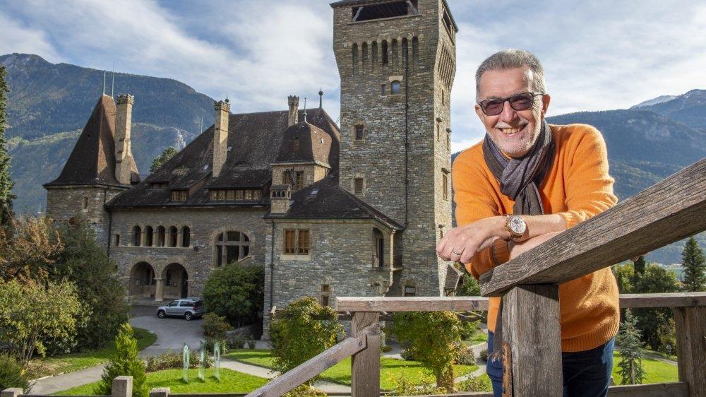 René-Pierre Antille est l'administrateur délégué de la Fondation du château Mercier. Il fait en sorte que les événements qui se déroulent sur le site soient en accord avec l'esprit du lieu.