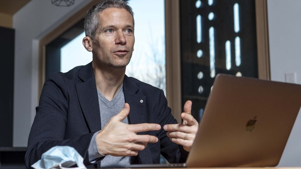 Jacques Fellay, médecin, chercheur au CHUV et à l'EPFL, et membre de la Science Task Force nationale Covid-19.