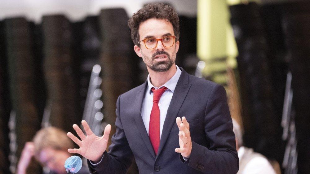 Florian Evéquoz est le responsable du domaine Economie et Services des HES.