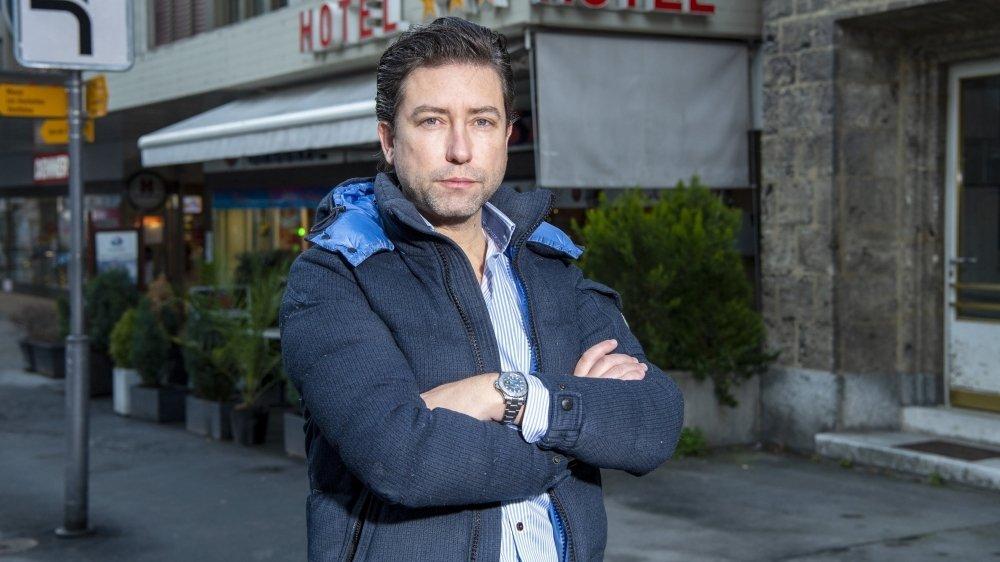 Pour le copropriétaire de l'hôtel Casino à Sierre, Juan Mourino, la faillite est une possibilité.
