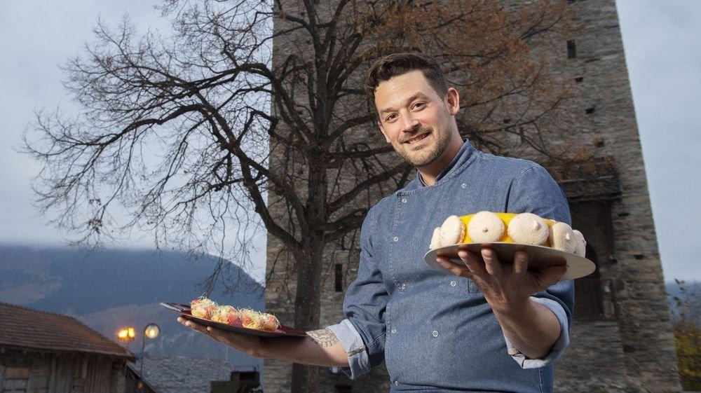 Il est boulanger-pâtissier de formation, mais la cuisine ne lui fait pas peur. Julien Buffat propose un service traiteur complet, de l'entrée au dessert.