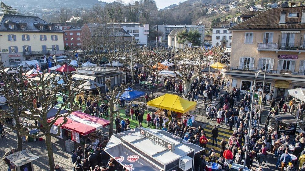 La Foire du 31 de Monthey attire chaque année plus de 5000 visiteurs.