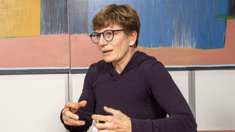 Brigitte Wolf s'était présentée au Conseil des Etats en 2019.
