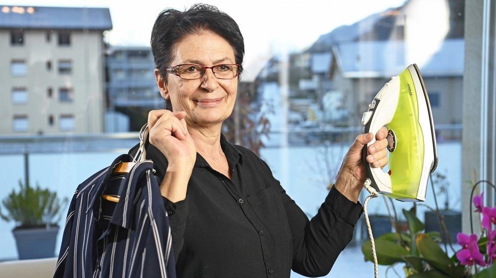 ValaiStar du mois de novembre: Margaret Papilloud ne songe pas à ranger son fer à repasser immédiatement.