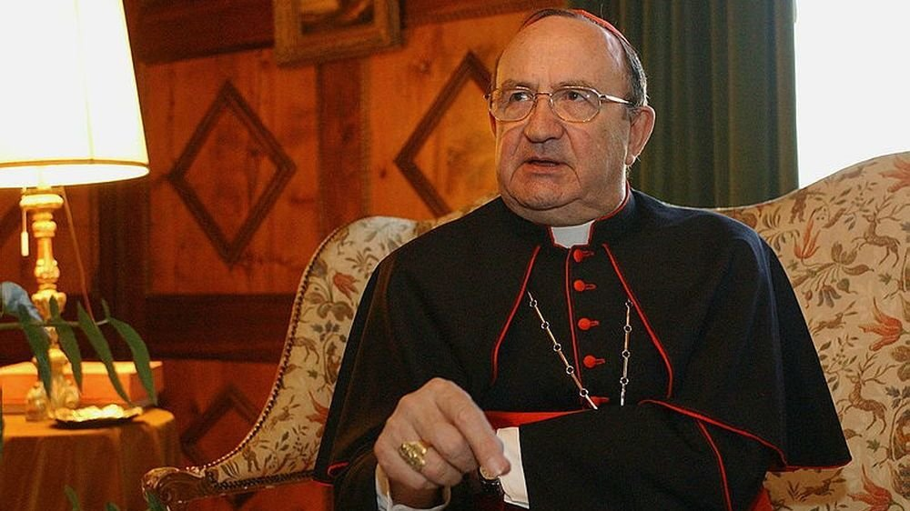 Mgr Henri Schwery est décédé jeudi.