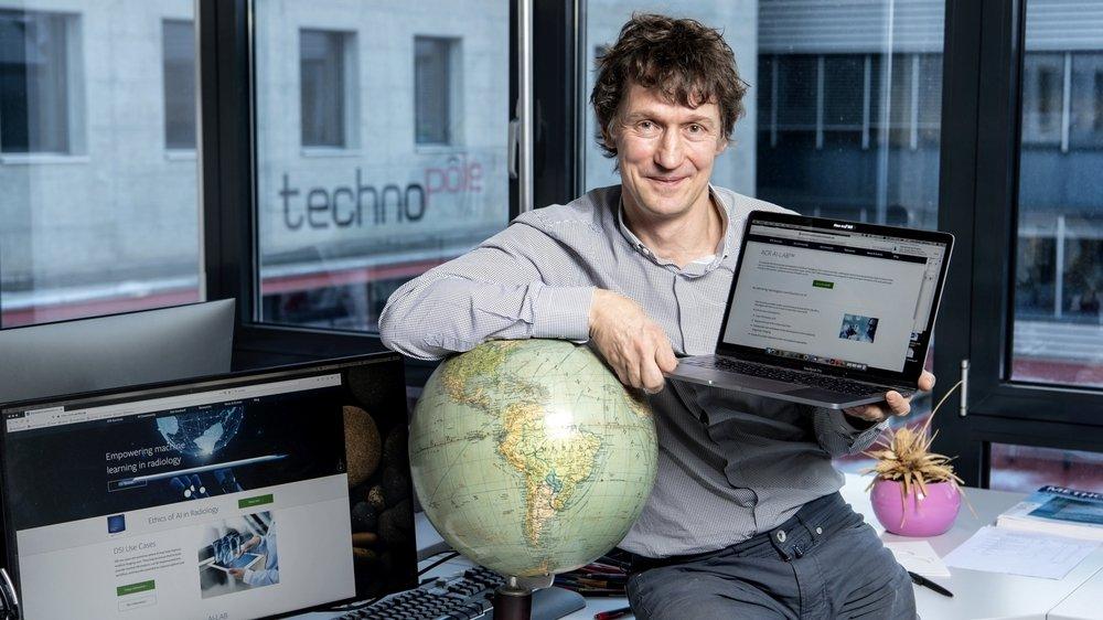 Henning Müller est responsable de l'Unité e-Health de l'Institut de recherche en informatique de gestion de la HES-SO Valais-Wallis.