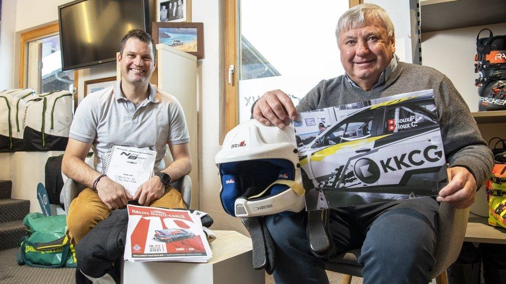 Christophe et Philippe Roux vivront un premier Rallye Monte-Carlo ensemble.