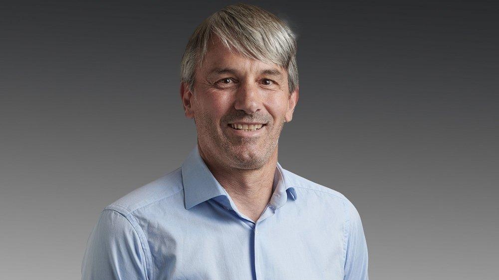 Pierre Mathey est directeur de l'association des remontées mécaniques valaisannes depuis le 1er septembre 2020.