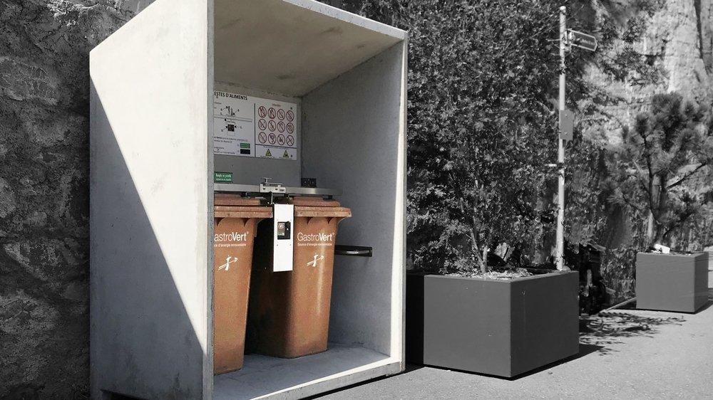 D'ici au printemps, seize containers GastroVert de ce type seront installés sur les éco-points sierrois.