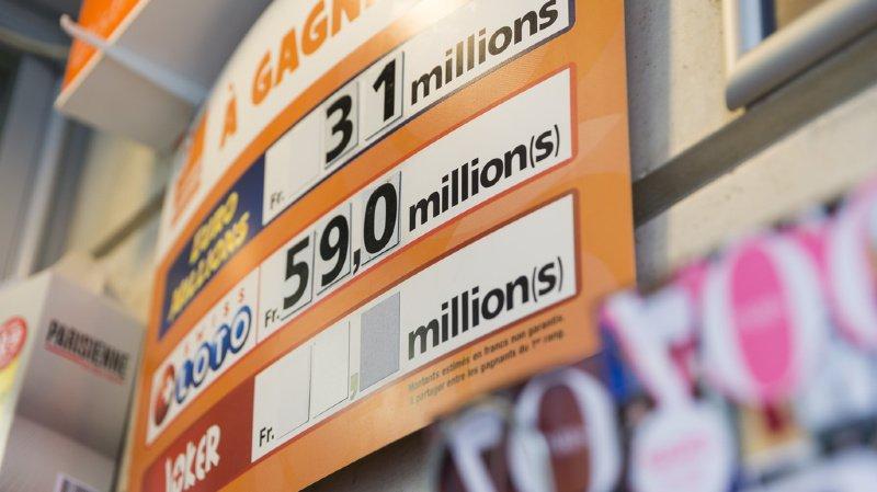 L'ensemble des gains remportés par les joueurs du Swiss Loto durant l'année qui vient de s'écouler se monte à près de 206 millions de francs. (illustration)