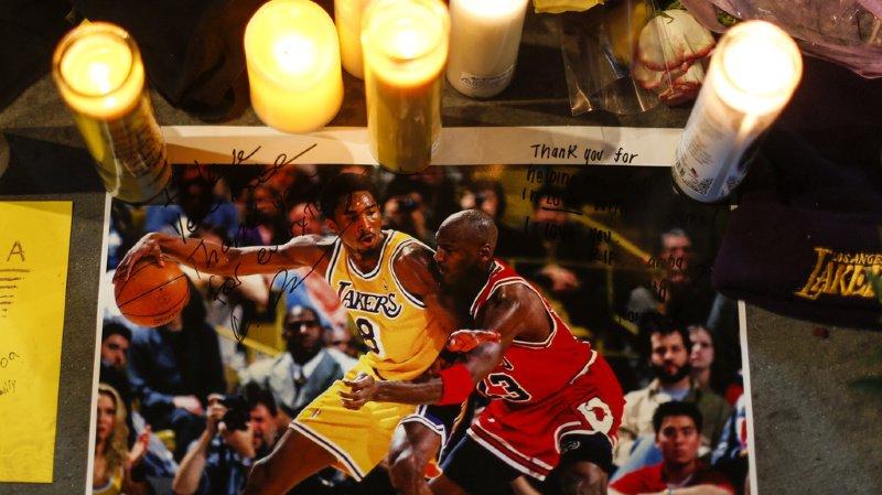 Au début de l'année, le monde disait adieu à Kobe Bryant, immense star du basket décédée dans un accident d'hélicoptère (archive).