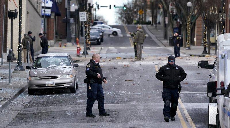 Etats-Unis: une forte explosion souffle une rue de Nashville et fait au moins trois blessés