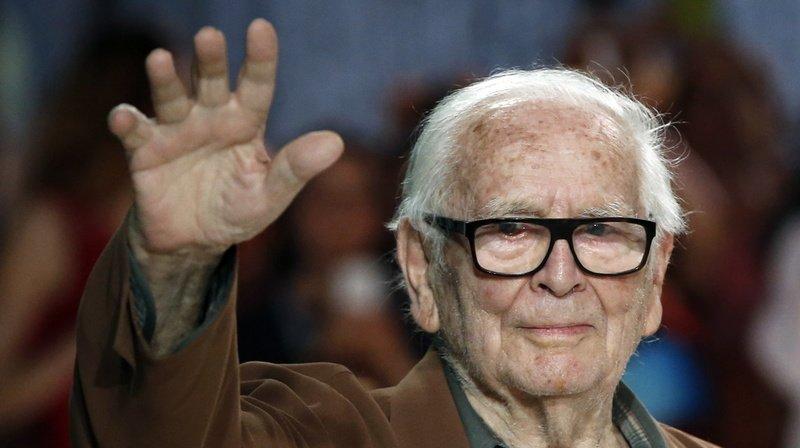 Carnet noir: le couturier français Pierre Cardin est décédé