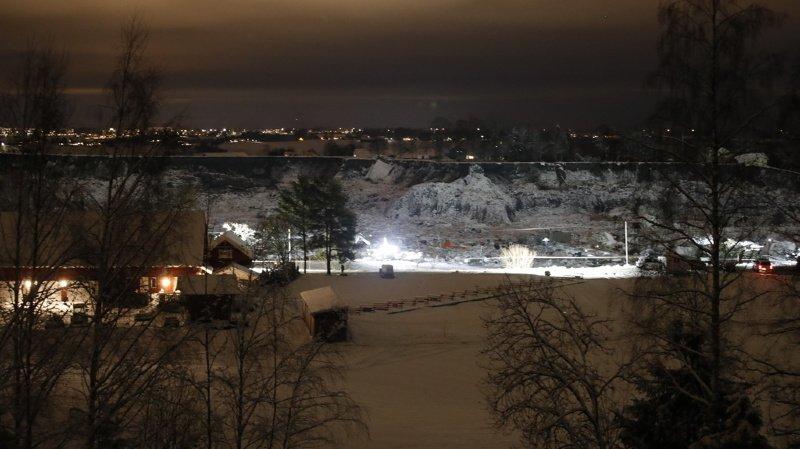 Norvège: un septième corps retrouvé après le glissement de terrain