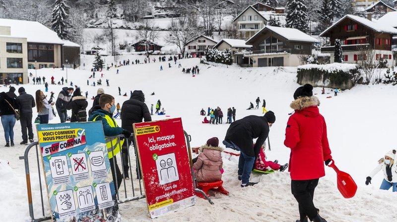 Tourisme: sombre bilan pour les stations suisses en fin d'année