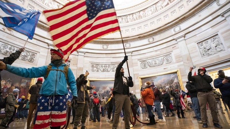 Invasion du Capitole par des pro-Trump: revivez ce 6 janvier de chaos à Washington