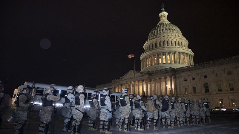 Invasion du Capitole par des pro-Trump: 4 morts, 22 blessés et 52 arrestations