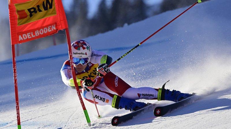 Ski alpin: Marco Odermatt sur le podium du Géant d'Adelboden
