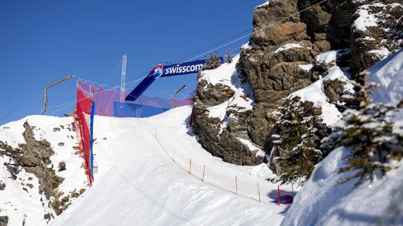 Ski alpin: l'arrivée des équipes à Wengen stoppée
