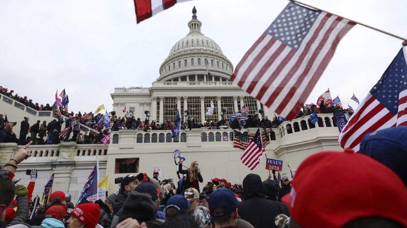 Etats-Unis: pas de preuve d'un projet d'assassinat d'élus au Capitole