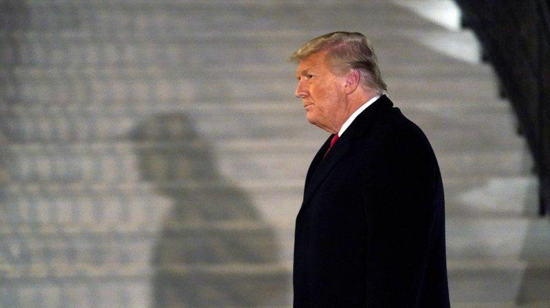 Violences au Capitole: Donald Trump mis en accusation au Congrès, un 2e «impeachment» historique