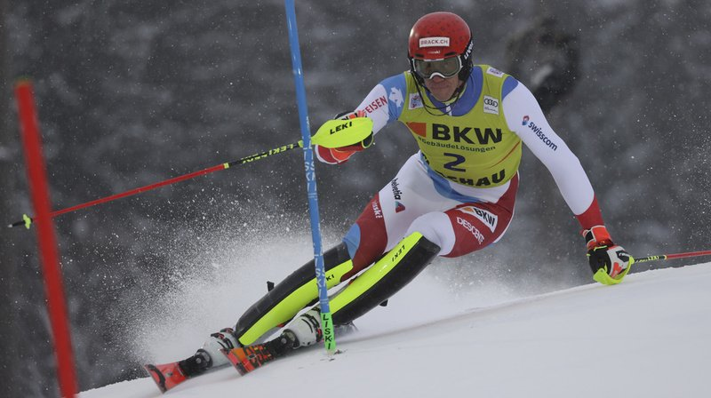 Ski alpin: Zenhäusern 6e après la 1re manche du slalom de Flachau, Yule éliminé