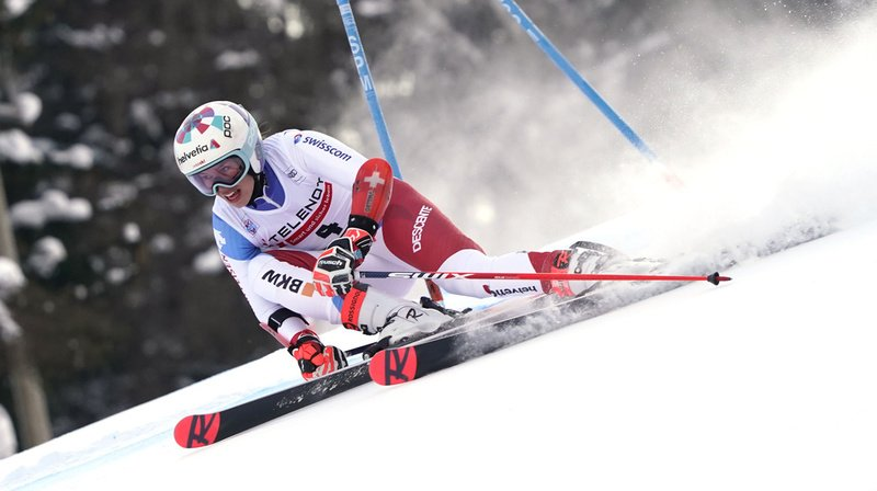 Ski alpin: Gisin 3e après la 1re manche du second géant de Kranjska Gora