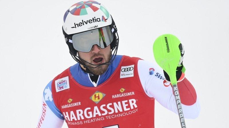 La deuxième carrière de Luca Aerni, de retour aux affaires en Coupe du monde de ski alpin