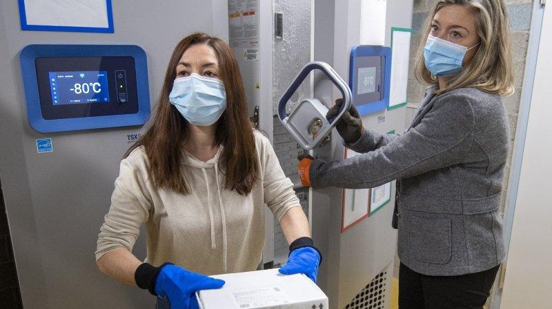 Coronavirus: à Ittigen, les militaires s'occupent des vaccins