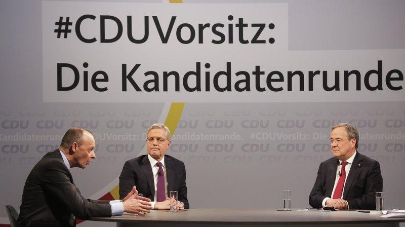 Succession d'Angela Merkel en Allemagne: 3 candidats s'affrontent pour succéder à Merkel