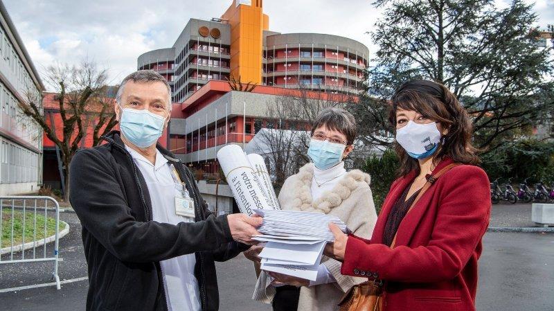 Lettres de Soie amène de la poésie aux soignants de l'Hôpital de Sion