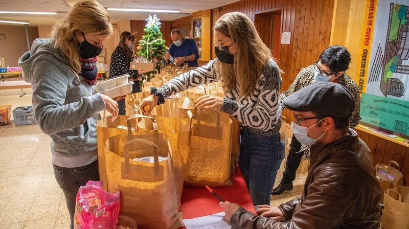 Le coronavirus n'a pas terni leur Noël solidaire